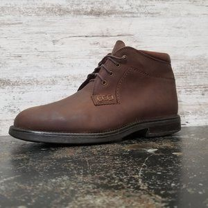 Mens Johnston & Murphy Ankle Boots Sz 9 M Used